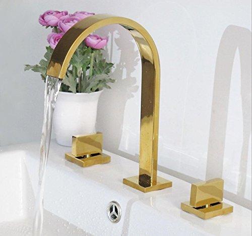 10 LHbox Basin Mixer Tap Bathroom Sink Faucet Basin faucet 3-Piece 8