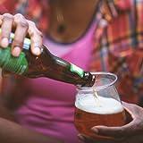 B Cups Funk Outdoor Craft Beer Cups, 4-Piece, BPA