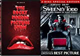 Dark and Funny Musicals - Sweeney Todd: The Demon Barber of Fleet Street (Two-Disc Special Edition) & Rocky Horror Picture Show (DVD/Digital HD) 3-DVD Bundle