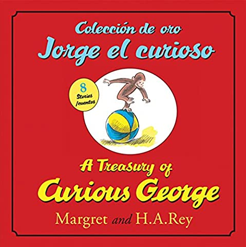 Coleccion de oro Jorge el curioso/A Treasury of Curious George (bilingual edition) (Spanish and English (Spanish Kids Stories)