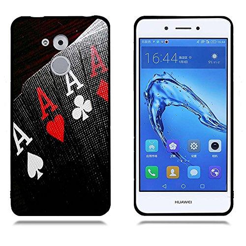 Funda Huawei Enjoy 6s/ Honor 6C, FUBAODA [Flor rosa] caja del teléfono elegancia contemporánea que la manera 3D de diseño creativo de cuerpo completo protector Diseño Mate TPU cubierta del caucho de s pic: 16
