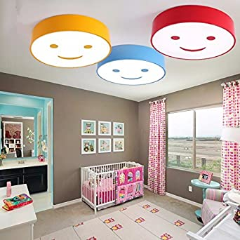 Gqlb Cartoon Farbe Kinderzimmer Deckenleuchte Led