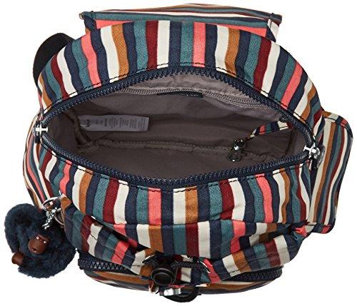 Striped Mini Multicolour Women's Backpack Pack Kipling Multi City 7TqW6