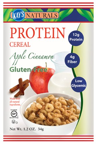 Kay's Naturals - Better Balance Protein Cereal Apple Cinnamon - 1.2 oz (pack of 3)
