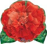 "18"" Red Flower Shape Balloon"