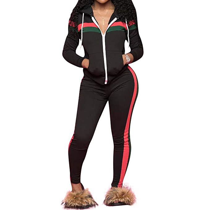 street price top-rated genuine fashion design Top-Vigor Women's 2 PCS Plus Size Tracksuit Sets Sweatsuits Outfits Hoodie  Sweatshirt and Jogging Sweatpants Suit