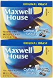 Maxwell House Coffee Singles, 19 ct Single Serve Bags, 2 pk