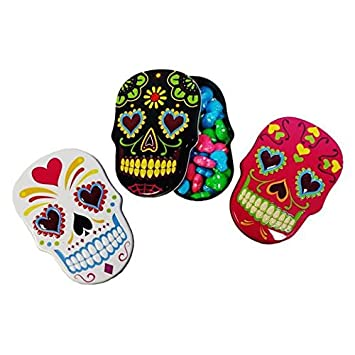 Day Of The Dead Sugar Skull Candies Set 3