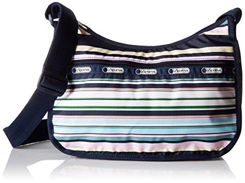 LeSportsac Classic Hobo Handbag, Beach Stripe