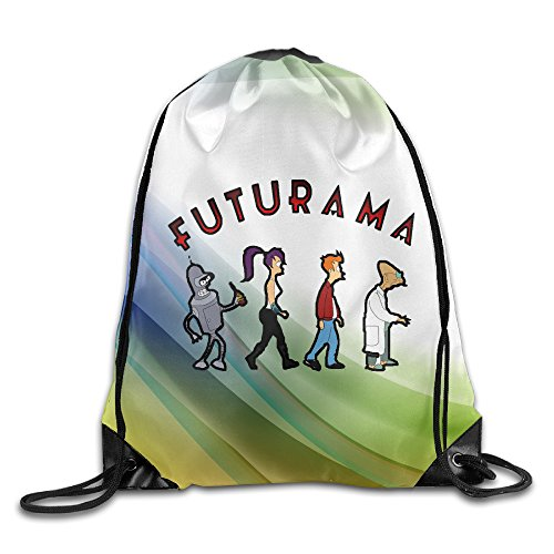 D2 Cool Futurama Abey Road Sackpack (Billboard Bag Messenger)