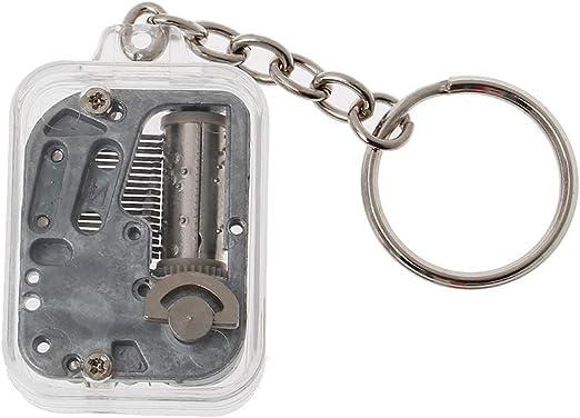 Huyiko - Caja de música con mecanismo de llavero, diseño musical ...