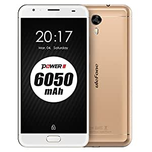 Ulefone Power 2 4GB+64GB 5.5 inch Android 7.0 MTK6750T Octa-core up to 1.5GHz GSM & WCDMA & FDD-LTE (Gold)