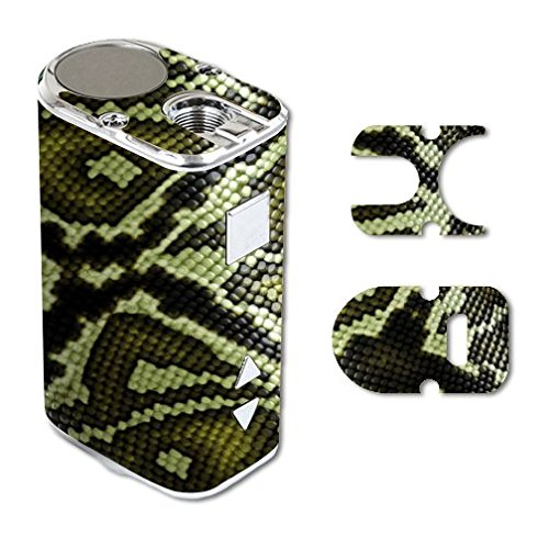 Eleaf iStick 10W Mini Vape E-Cig Mod Box Vinyl DECAL STICKER Skin Wrap / Green Snake Skin