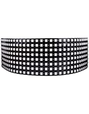 Longruner WS2812B Led Strip Panel Kit Matrix 8x32 256 Pixel Flessibile Digitale Integrato WS2812B IC Lampada a LED con illuminazione a Colori Full Dream DC5V LWS03