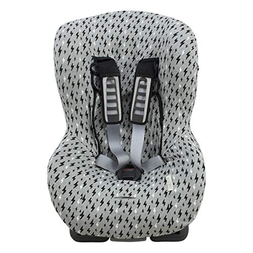 Universal Car Seat Cover Liner (Britax, Chicco, Mico and More) Black Rayo ()