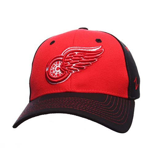 NHL Detroit Red Wings Men's Uppercut Hat, X-Large, Red