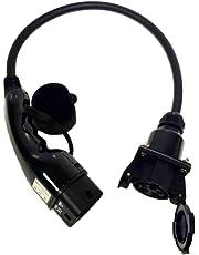 Adaptador eléctrico múltiple para vehículo, cambia tu cargador de tipo 1 a tipo 2, 32A