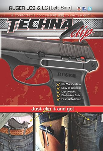 Techna Clip - Gun Belt Clip for Ruger LC/LC9 (Left Side)