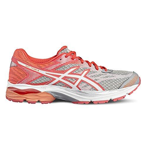 Flux white Schuhe T764n 9601 Pink Asics diva 4 Gel Weiblich Midgrey ZU4nfWqYEw