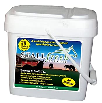 StallFresh Moisture Absorbent and Ammonia Neutralizer, 13-Pound Bucket