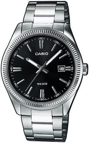 Casio Classic Silver Watch