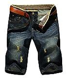 LATUD Men's Casual Denim Shorts US 34/Tag 36
