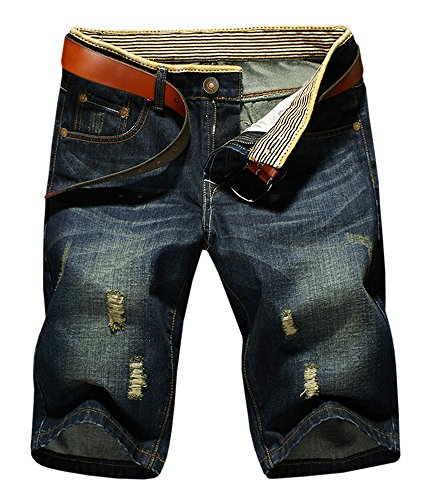 LATUD Men's Casual Denim Shorts US 38/Tag 40