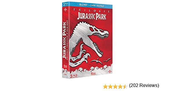 Jurassic Park Trilogie [Francia] [Blu-ray]: Amazon.es: Sam Neill, Laura Dern, Jeff Goldblum, Richard Attenborough, Samuel L. Jackson, Julianne Moore, ...