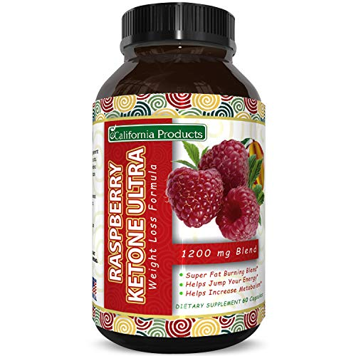 Blend of Raspberry Ketones, Green Tea Extract and African Mango – Lose Weight Faster – Natural Ingredients to Speed Up…