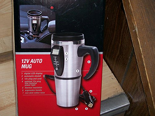 JLR Gear 12v Auto Mug 16 Oz. by JLR ()
