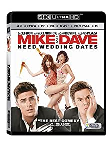 Mike & Dave Need Wedding Dates (4K UHD + Blu-ray + Digital HD)