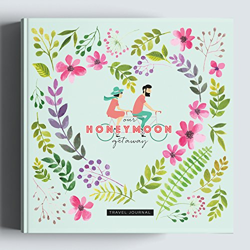 Honeymoon Travel Journal, Record-Book Trip Together, Save All Experiences On This Memory Album, A Just Married Present or Gift Like No Other. Anniversary Gifts for Him and Her.