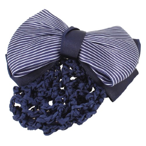 uxcell Women Stripes Bowtie French