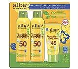 Alba Botanica Coconut Clear and Green Tea Sunscreen 3 Pack
