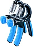 The Best Hand Grip Strengthener! This Hand Exerciser has 22-88 lbs Resistance Levels. Robust and non-slip Hand Gripper. Great for Fingers, Palms & Arms! (2 Pack) Review