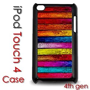 For SamSung Note 3 Case Cover gen Touch Plastic Case - Colorful Wood