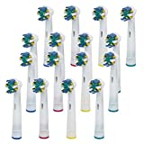 16pcs Toothebrush Replacement Heads for Braun