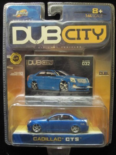Cadillac CTS Dub City 2003 Includes Collector Card #032 By Jada by Dub City collector card -