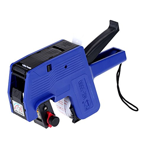 Retail Store Universal 8 Digits Price Tag Gun Pricing Labeller with Ink and Label
