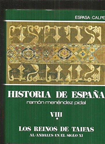 Los reinos de taifas. hªespaña: la España musulmana de los siglos xial XV, t.8 - vol.1: Amazon.es: Viguera Molins, María Jesus ... [Et: Libros