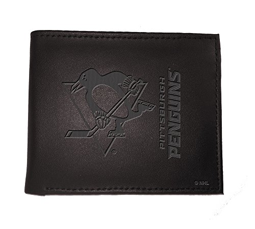 Team Sports America Bifold Wallet, Pittsburgh Penguins