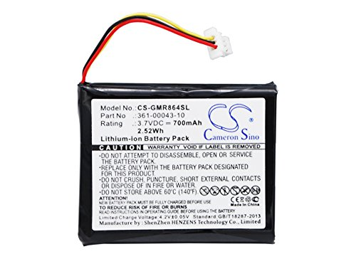 Replacement Battery for Garmin Delta, Delta Handheld, Delta Sport, Delta Sport Remote Transmitter, Delta Sport XC, Delta Sport XC System, Delta Upland, Delta Upland handhelds, Delta Upland - Handheld Remote Transmitter