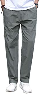 BoBoLily Herren Freizeithose Slim Straight Pants Relaxed Lange Hose Sports Hosen Jogginghosen Baumwolle Mit Kordelzug