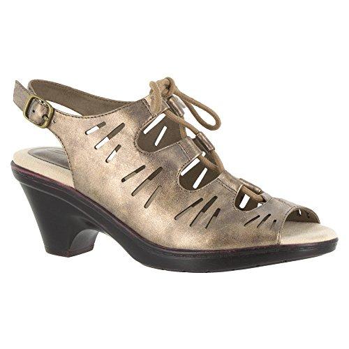 Easy Street Womens Kitt Dress Sandal Bronze