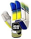SS Men's Superlite Pro Batting Gloves Right Hand for Mens Latest 2019 Model (PlatinoRH)