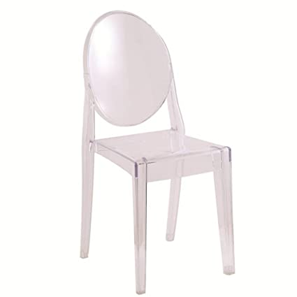 Victoria Ghost Chair (1, Clear)