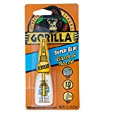 Gorilla 7501201 Super Glue Brush & Nozzle, 12g, Clear
