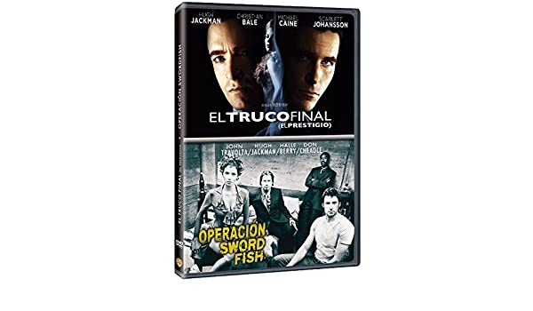 Pack: El Truco Final + Operación Swordfish [DVD]: Amazon.es ...
