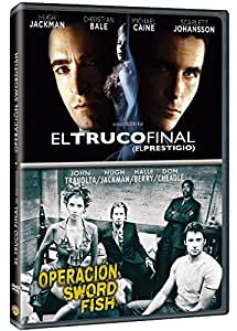 Pack: El Truco Final + Operación Swordfish [DVD]: Amazon.es: Christian Bale, Hugh Jackman, John Travolta, Halle Berry, Christopher Nolan, Dominic Sena, Christian Bale, Hugh Jackman, Christopher Nolan, Jonathan D. Krane: Cine y