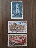 Late 1960's French stamps